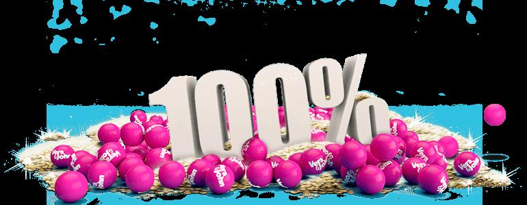 100 procent Welkomstbonus