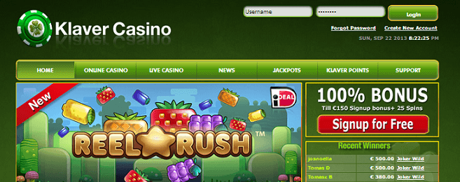 Klaver casino conclusie