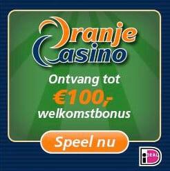 Oranje Casino bonussen en acties