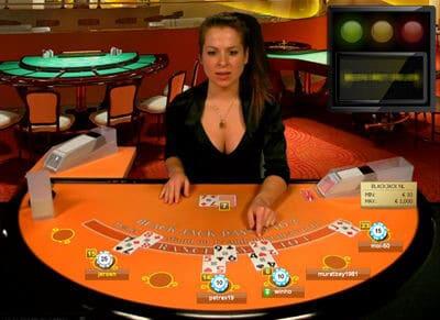 Oranje Casino Live blackjack spelen