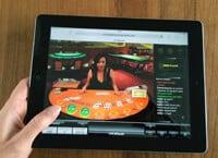 Oranje Casino mobiel live casino op je ipad