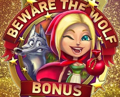 Win een extra 250 euro op de Red Riding Hood slot bij Polder casino