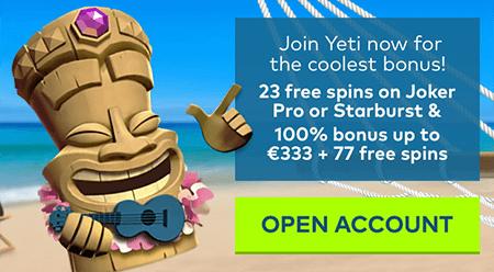 aanmelden bonus