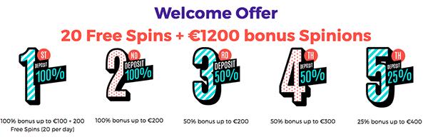 bonus casinopop