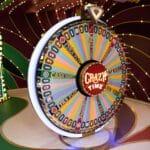 Crazy Time is de nieuwe game show van Evolution Gaming