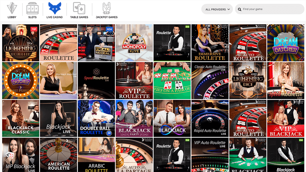 live casino crazyfox