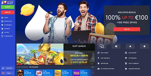 EUslot casino review