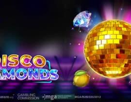 Play 'n Go lanceert vrolijke Disco Diamonds slot