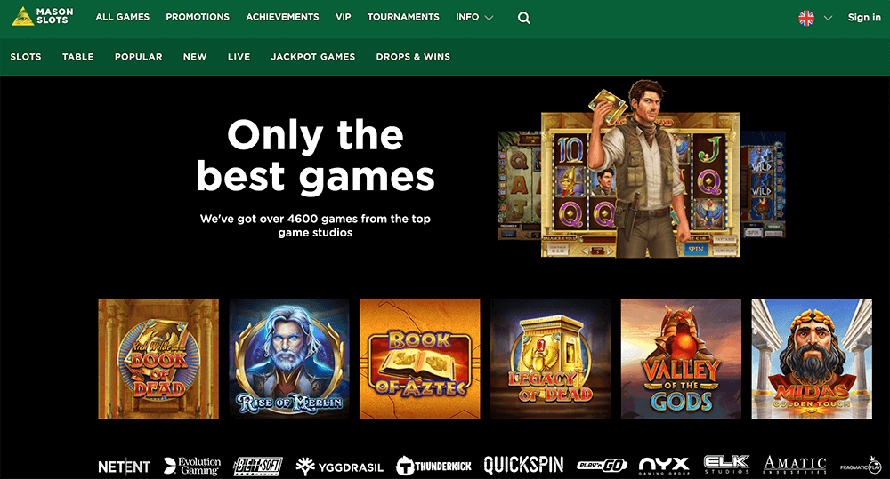 casino screenshot Mason