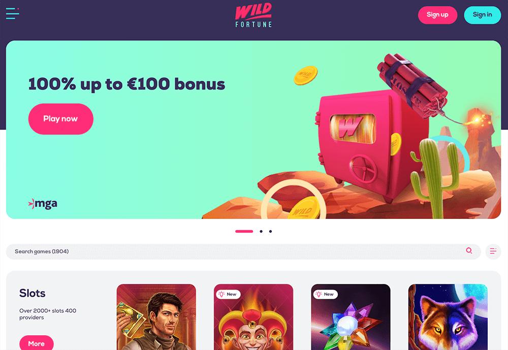 Wild Fortune screenshot