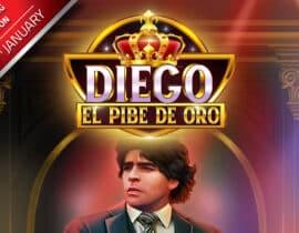 GameArt brengt een gokkast uit ter ere van Diego Maradonna