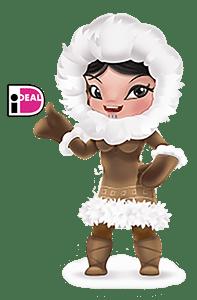 Geld storten met iDeal bij Eskimo