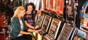 Gokkasten in het casino