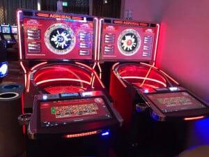 Roulette in het casino