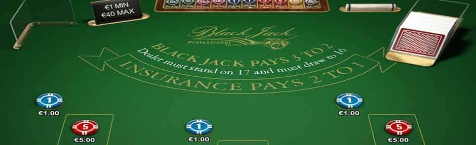 Hoe werkt Blackjack pro