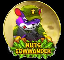Nuts commander videoslot