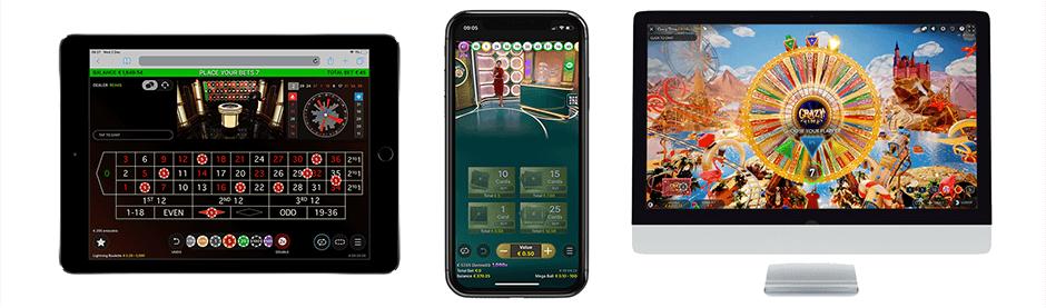 Evolution gaming casino spellen