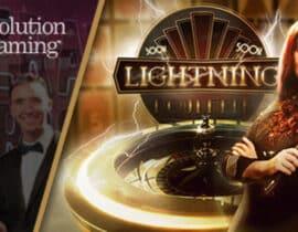 Speel straks Lightning Roulette vanuit fysieke casino's