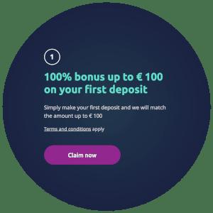 100 euro stortingsbonus