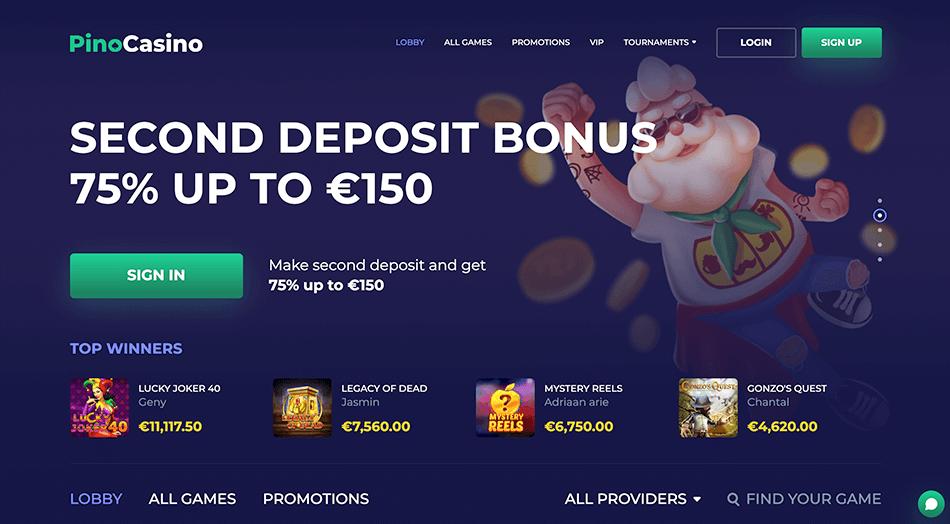 Pino casino online