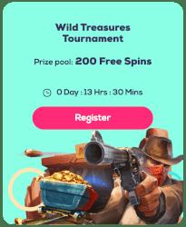 Wild treasures tournament