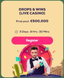 live casino toernooi