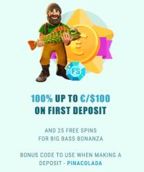 Bonus activeren met een code