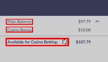 Casino saldo