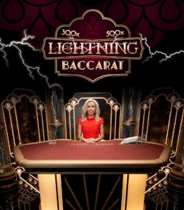 Lightning variant baccarat