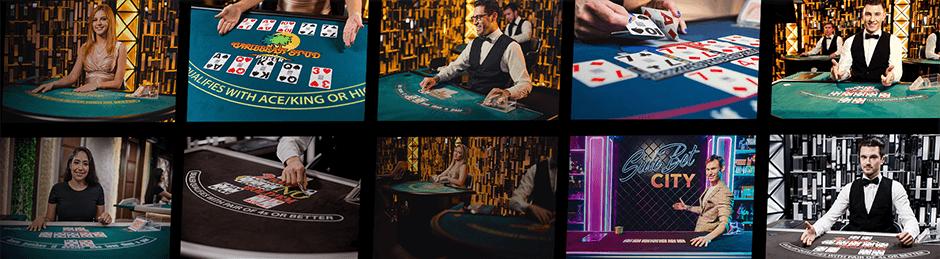 Poker evolution gaming