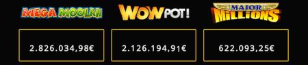 Record brekende jackpot spellen