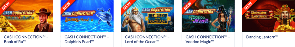 Spelaanbod online casino