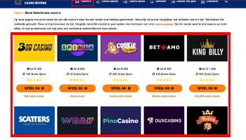 Beste casino reviews