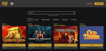Online fair play casino