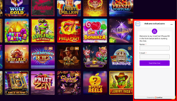 casino live chat